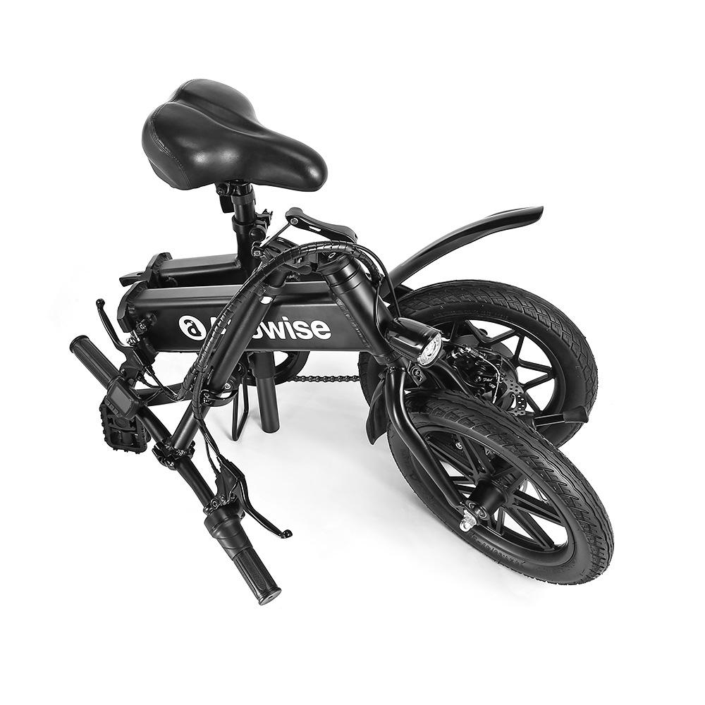 Notre test de l'Alfawise X1, un superbe vélo électrique pouvant monter jusqu'à 25 km/h et une autonomie de quasiment 50 km !